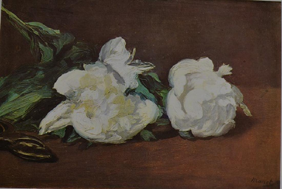 "Edouard Manet - Pionies""In the style Of"""