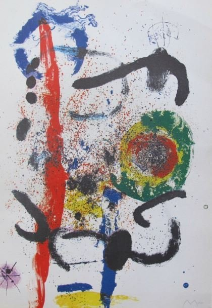 Joan Miro - LA Cascada