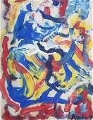 Williem DE Kooning - Untitled I