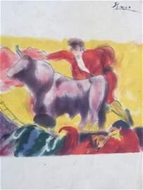 Pablo Picasso - Bullfight