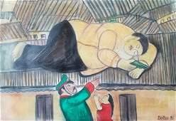 Fernando Botero - Pablo Escobar Death