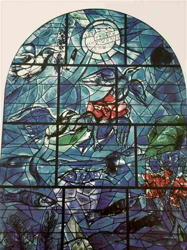 """Chagall - Stained glass window """"After"""""""