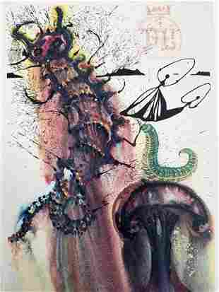 Salvador Dali Advice From a Caterpillar