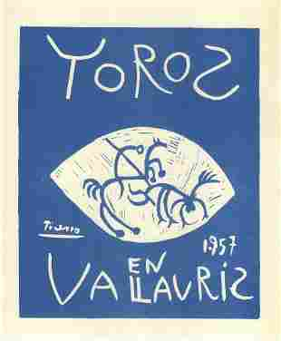 Picasso Toros Bulls In Vallauris