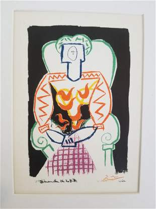 PICASSO SEATED GIRL