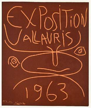 Picasso Exposition Vallauris 1963