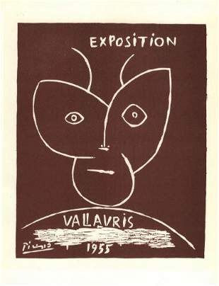 Picasso Exposition Vallauris 1955