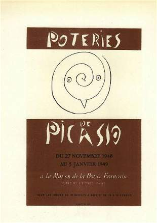 Picasso Pottery By Poteries De After