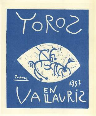 Picasso Toros Bulls In Vallauris After