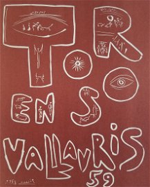 """Picasso 1955 Exposition Vallauris 1    """"After"""""""