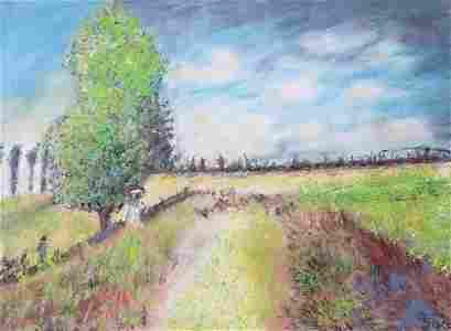 Alfred Sisley - The Road From Versailles