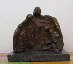 Bronze Sculpture Henry Moore Group