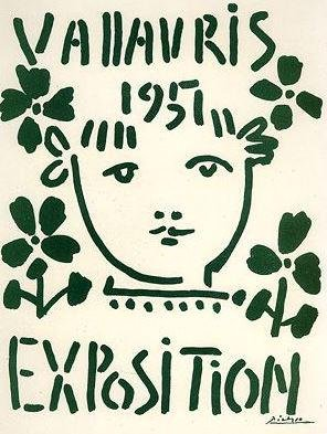 Picasso Exposition Vallauris 1951