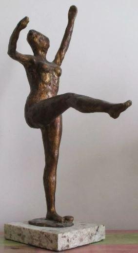 Bronze Sculpture Dancer Edgar Degas