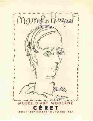 Picasso Manolo Hugnet Modern After