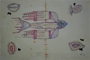 Paul Klee The Bird
