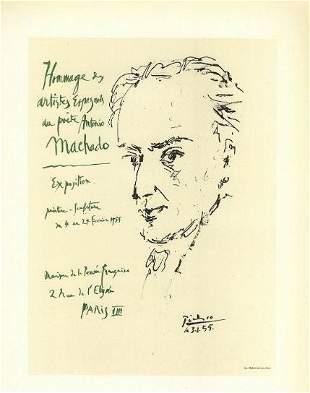 Picasso Poet Antonio Machado After