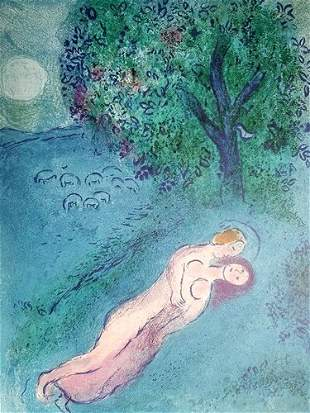 Chagall The Lesson Of Philetas After
