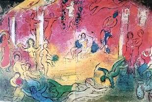 Chagall The Temple Of Bacchus and His Story After