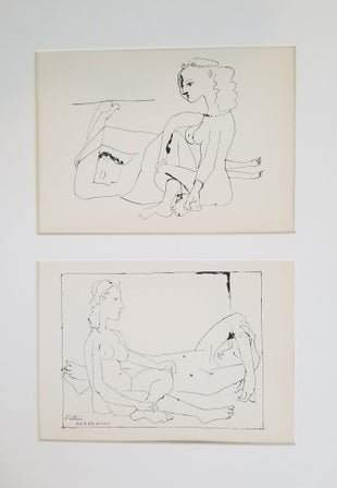 PICASSO SLEEPER WITH SEATED GIRL