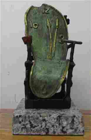 Bronze Sculpture Time V Salvador Dali