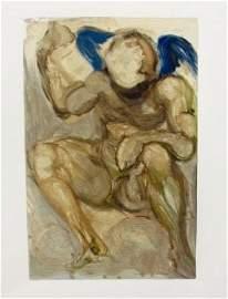 """Salvador Dali - 1960 Divine Comedy """"After"""""""