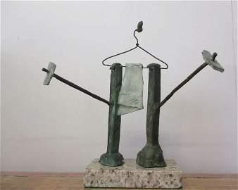 Bronze Sculpture Tete Ii Joan Miro