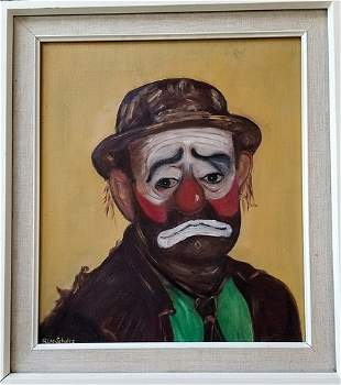 Ron Schultz In Style Of Hobo Clown