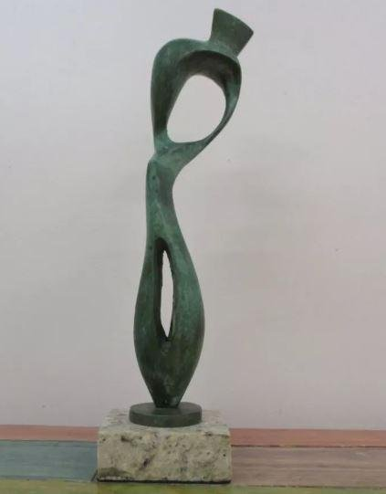 Bronze Sculpture Object by Henry Moore