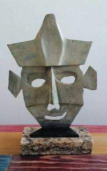 Bronze Sculpture Mascara Iii by Pablo Picasso