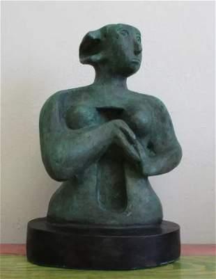 Bronze Sculpture Woman II Henry Moore