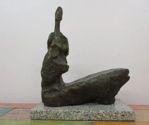 Bronze Sculpture Woman by Henry Moore