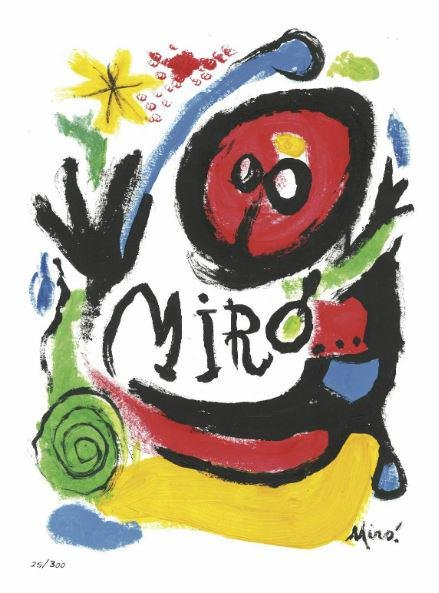 "Joan Miro - Tres Livres"" ""After"""