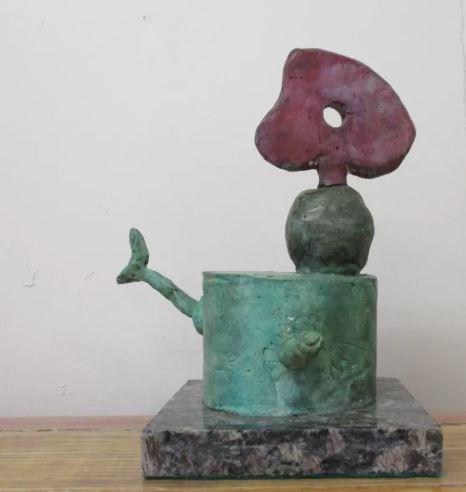 Bronze Sculpture Joan Miro Object