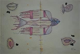 Paul Klee - The Bird