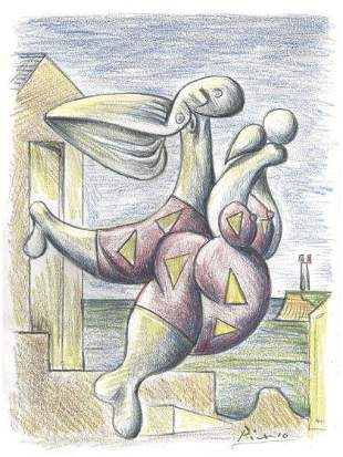 Pablo Picasso After Litho