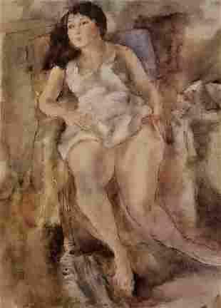 Jules Pascin Hilda