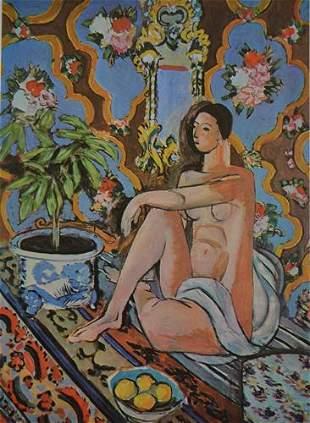 Matisse DECORATIVE FIGURE AGAINST After