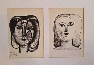 PICASSO HEAD OF A GIRL