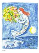 "Marc Chagall - ""La Baie des Angels ""After"""