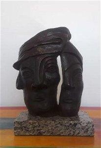 Bronze Sculpture Jose Luis Cuevas Mask