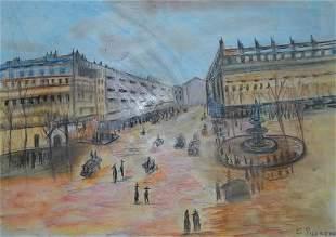 Camille Pissarro Boulevard Mantmartre