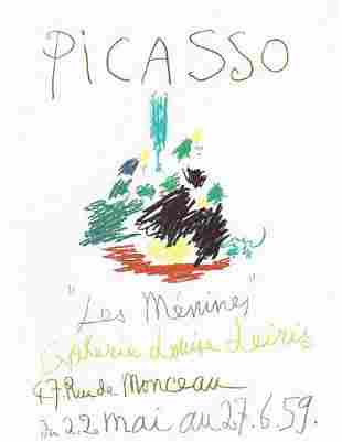 Picasso Les Menines Galerie Louise After