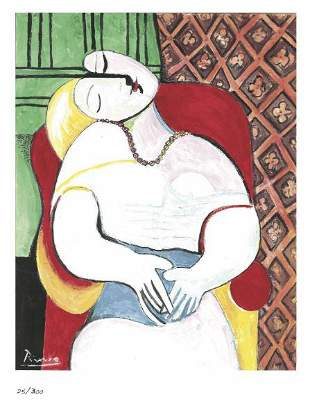 Pablo Picasso The Dream After