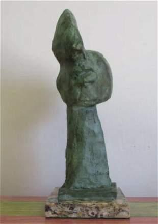 Bronze sculpture Head V by Pablo Picasso