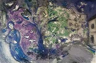Chagall Snaring Birds After