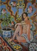 "Matisse - DECORATIVE FIGURE AGAINST ""After"""