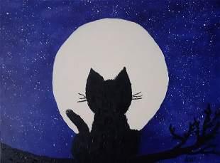 DeborahAvila - Moon Cat