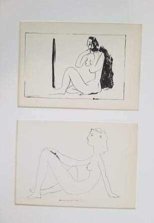 PICASSO- SEATED NUDE