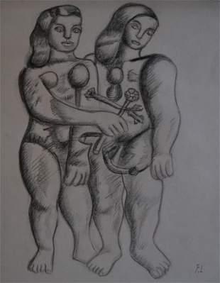 Fernand Leger - Lovers
